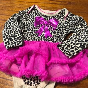 Garanimals One Pieces - Garanimals Animal Print Tutu Onesie